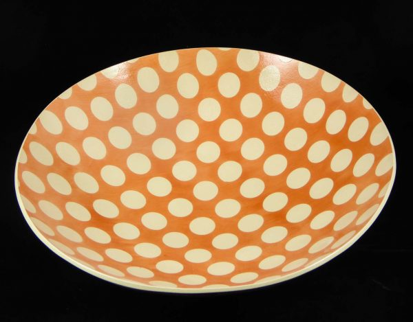 David Gee, Pink Spotty deep bowl 1