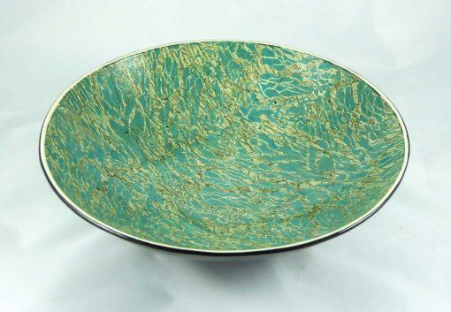 David Gee, Two Greens Restless Water Bowl 1