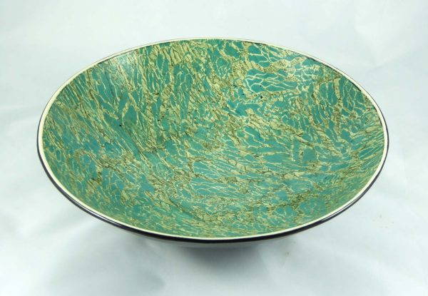 David Gee, Two Greens Restless Water Bowl 1