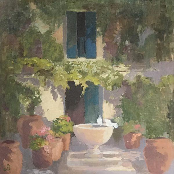 Jenny Sutton, A Spanish Courtyard 1