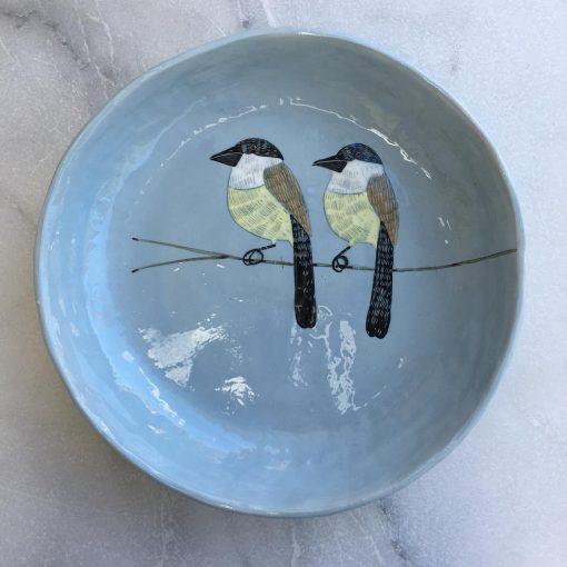 Gemma Orkin, Hand Painted large Platter (06) 1
