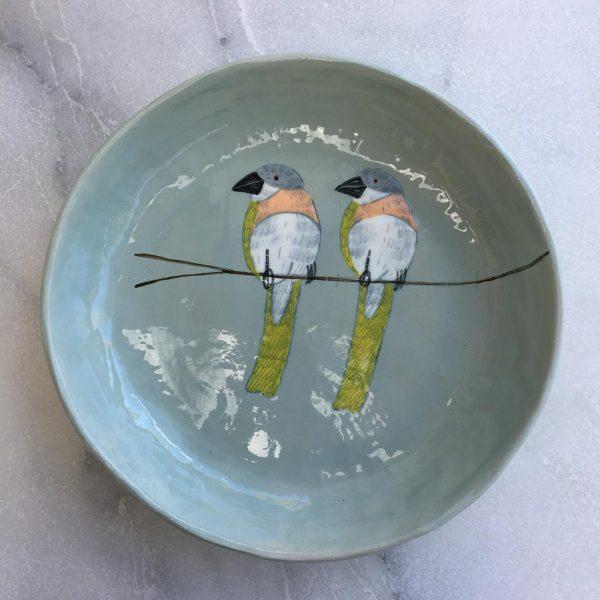 Gemma Orkin, Hand Painted Large Platter (Copy) 1