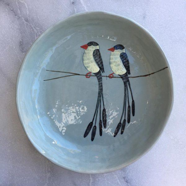 Gemma Orkin, Hand Painted large Platter 1