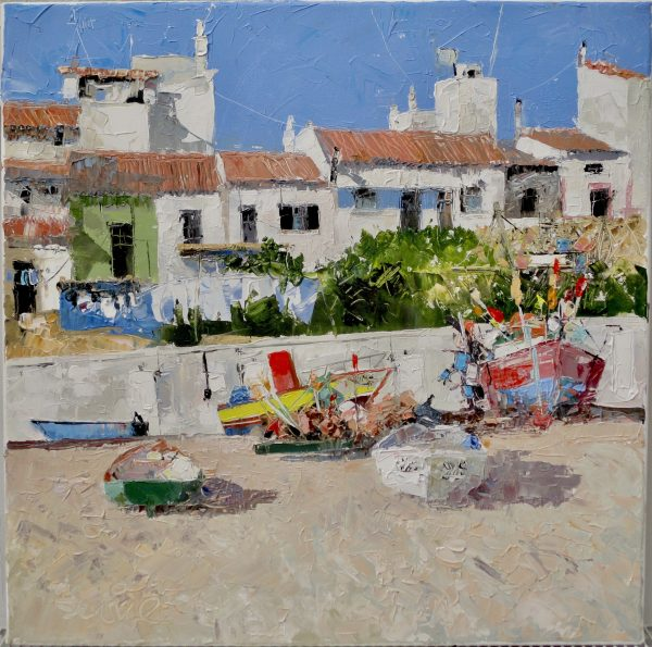 Mike Service, Fishing Village, Salema 1
