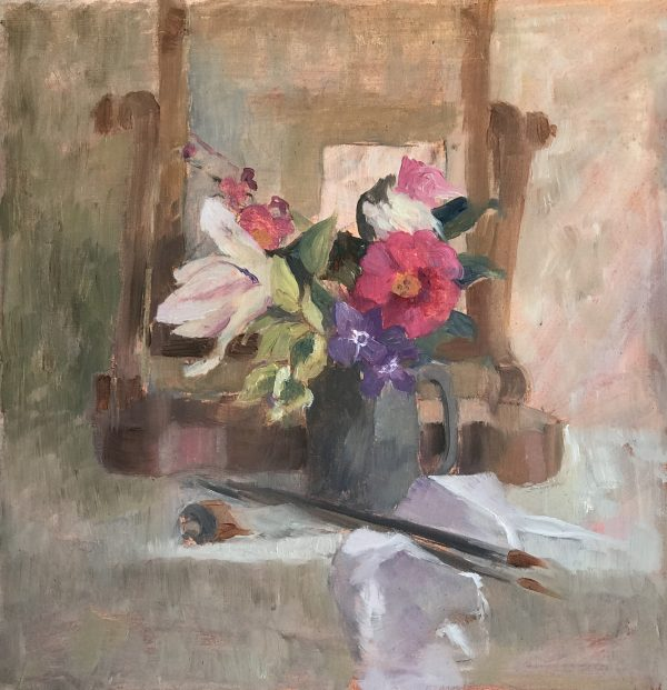 Jenny Sutton, Flowers in the Studio 1