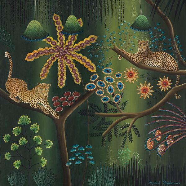 Daphne Stephenson, Jungle Harmony - Limited Edition Print 1