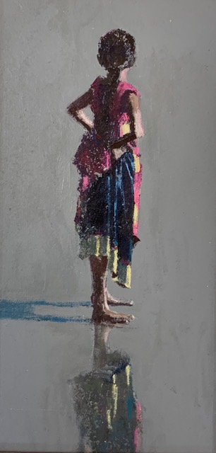 Patrick Gibbs, Girl on the Beach, Kerala 1