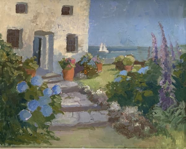 Jenny Sutton, The Cornish House by the Sea 1