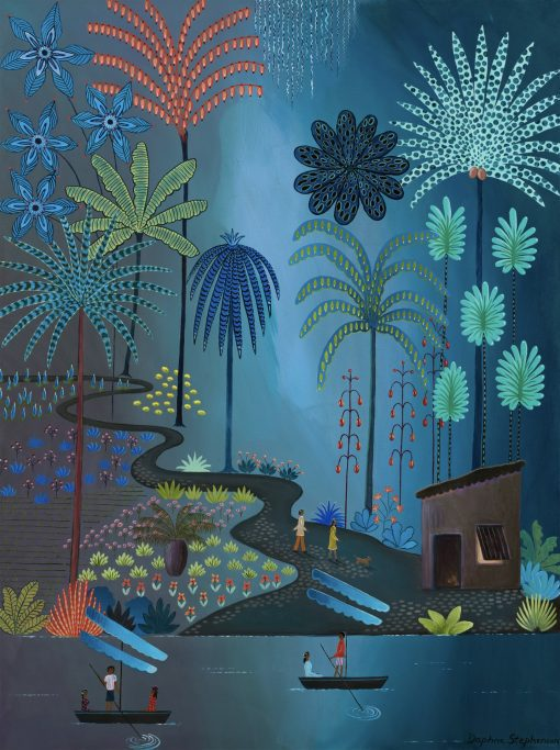 Daphne Stephenson, Blue Jungle Pathway 1