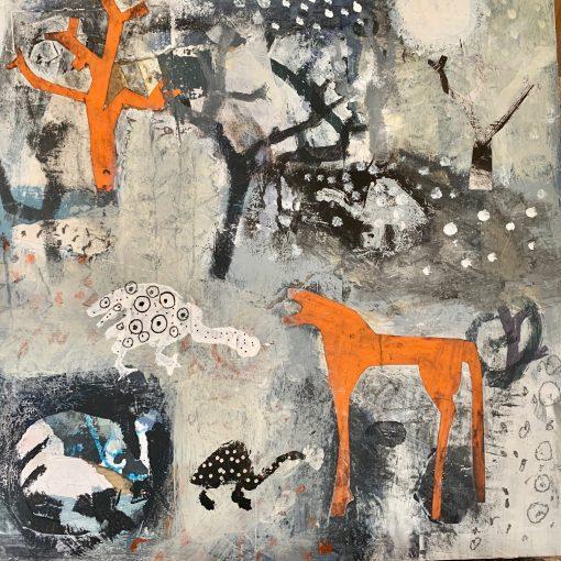 Colette Clegg, The Guinea Fowl Garden 1