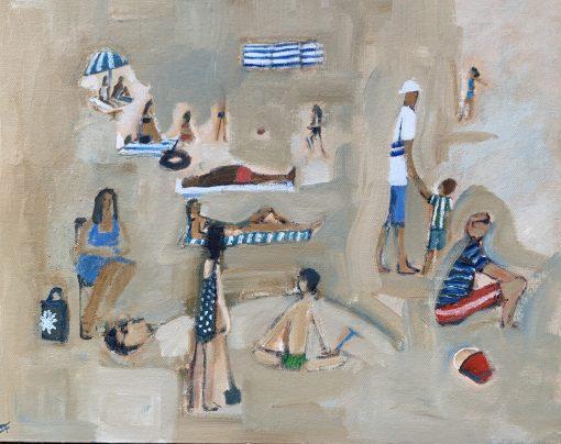 David Fawcett, Busy Beach 1