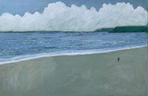 David Fawcett, Drawing in the Sand 1