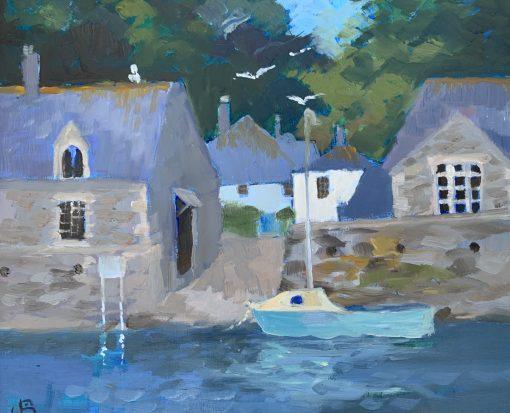 Jenny Sutton, High Tide Durgan 1