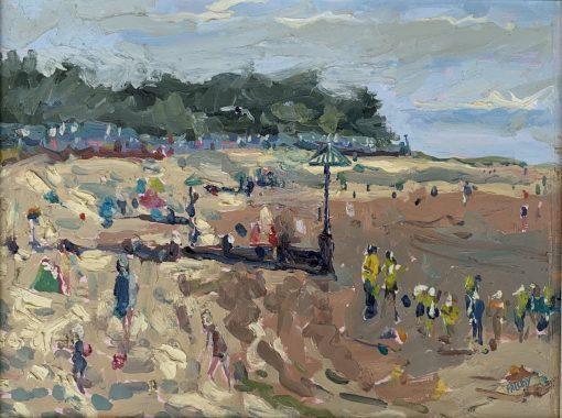 Emily Faludy, Busy Beach, Wells 1