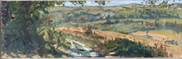 Emily Faludy, On the South Downs 1