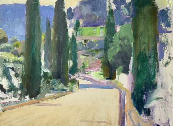 Frances Knight, Cypress Road, Morning Sun 1