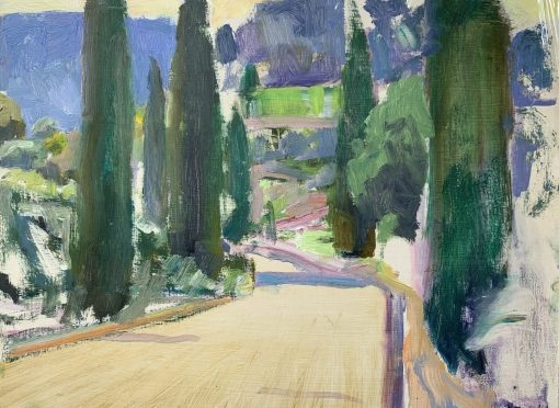 Frances Knight, Cypress Road, Morning Sun 1