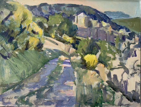 Frances Knight, La Barroux Chateau 1