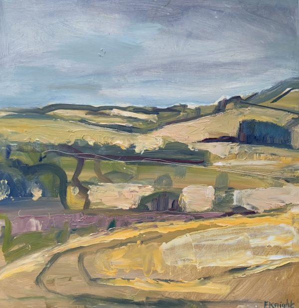 Frances Knight, Barley Fields, Houghton 1