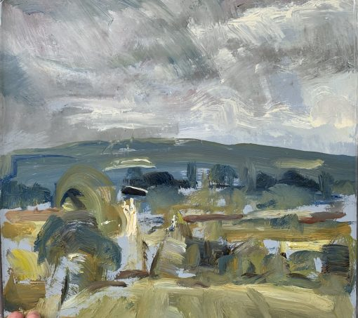 Frances Knight, Towards Firle 1