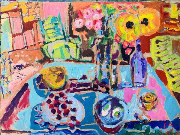 Leonie Gibbs, The Breakfast Table 1
