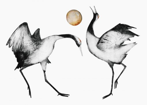 Beatrice Forshall, Japanese Cranes 1