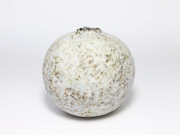 Claire Lardner Burke, Grey & Pale Green Pod with Nickel 1