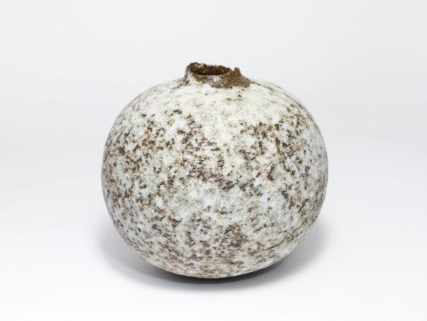 Claire Lardner Burke, Speckled Bronze & Grey Pod with Manganese 1