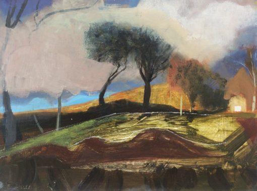 Arabella Shand, Storm Approaching, Carmarthenshire 1