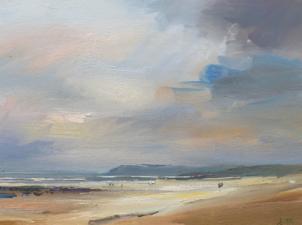 David Atkins, Late evening, Polzeath 1