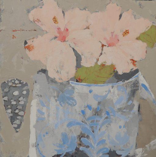 Christie Bird, Hibiscus Mug and Shell 1
