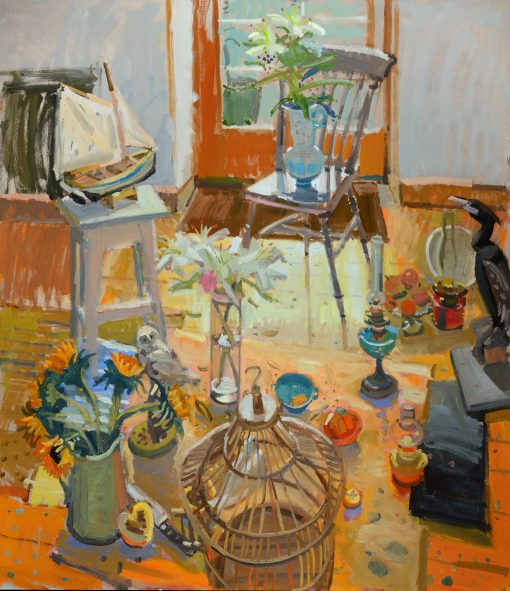 Glen Scouller, Summer Light in the Studio 1
