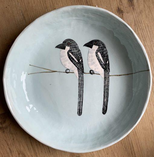 Gemma Orkin, Hand Made and Hand Painted Medium Ceramic (07) 1