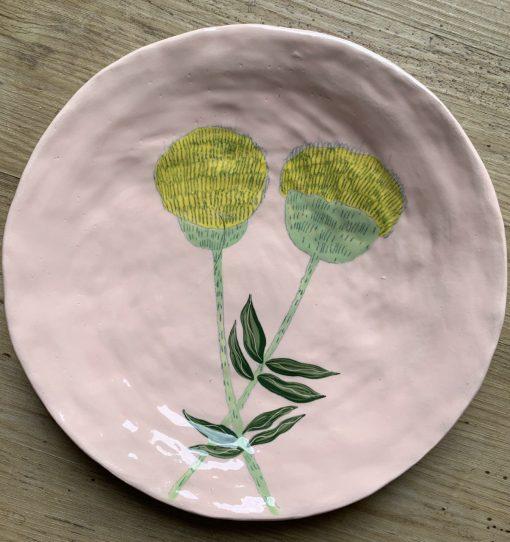 Gemma Orkin, Hand Made and Hand Painted Medium Ceramic (23) 1