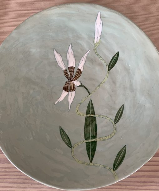 Gemma Orkin, Hand Made and Hand Painted Medium Ceramic (26) 1