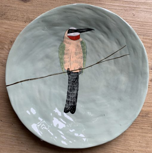 Gemma Orkin, Hand Made and Hand Painted Medium Ceramic (27) 1