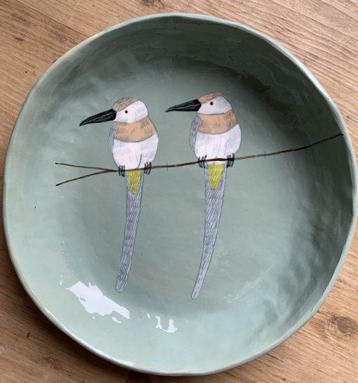 Gemma Orkin, Hand Made and Hand Painted Medium Ceramic (31) 1