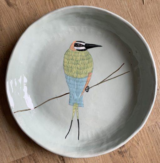 Gemma Orkin, Hand Made and Hand Painted Medium Ceramic (32) 1