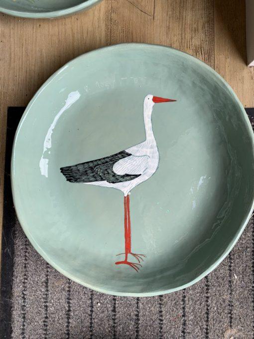 Gemma Orkin, Hand Made and Hand Painted Medium Ceramic 1
