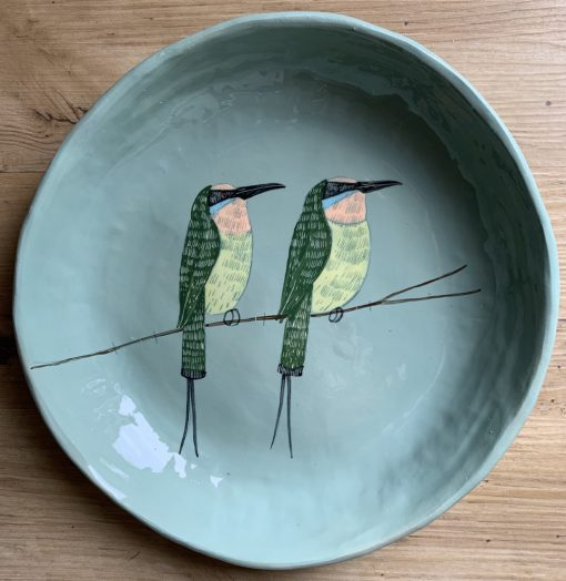 Gemma Orkin, Hand Made and Hand Painted Medium Ceramic (39) 1