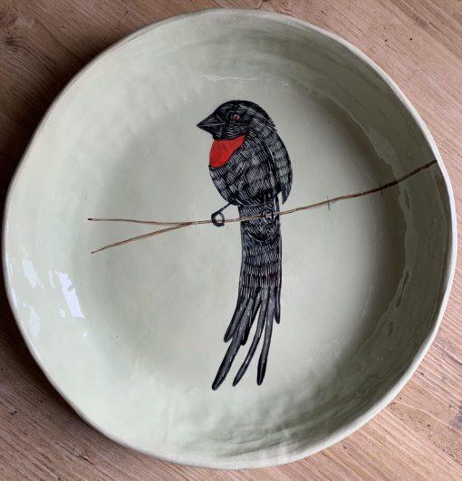 Gemma Orkin, Hand Made and Hand Painted Medium Ceramic (40) 1