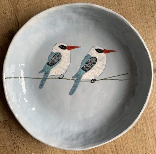 Gemma Orkin, Hand Made and Hand Painted Medium Ceramic (41) 1