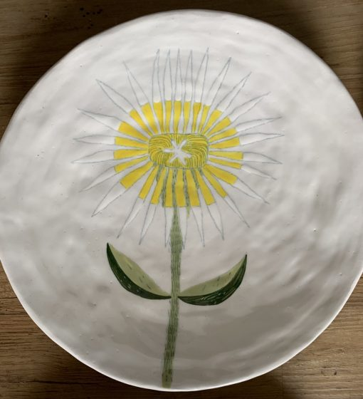 Gemma Orkin, Hand Made and Hand Painted Medium Ceramic (42) 1