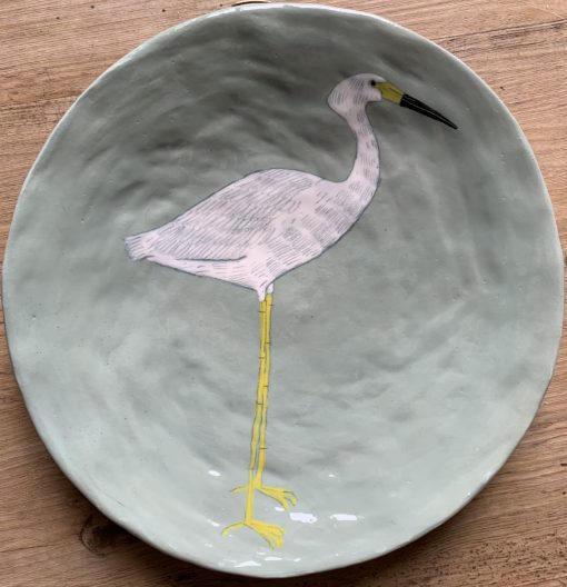 Gemma Orkin, Hand Made and Hand Painted Medium Ceramic 1