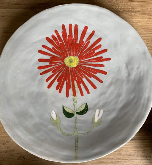 Gemma Orkin, Hand Made and Hand Painted Medium Ceramic (47) 1