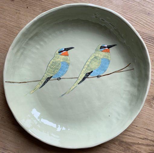 Gemma Orkin, Hand Made and Hand Painted Medium Ceramic (51) 1