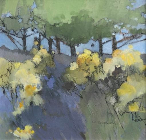 Norma Stephenson, Spring Gorse I 1
