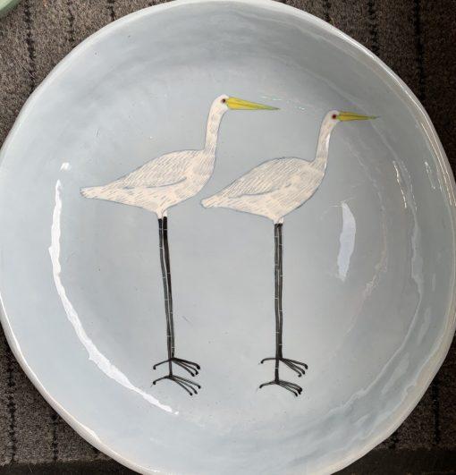 Gemma Orkin, Hand Made and Hand Painted Medium Ceramic (64) 1