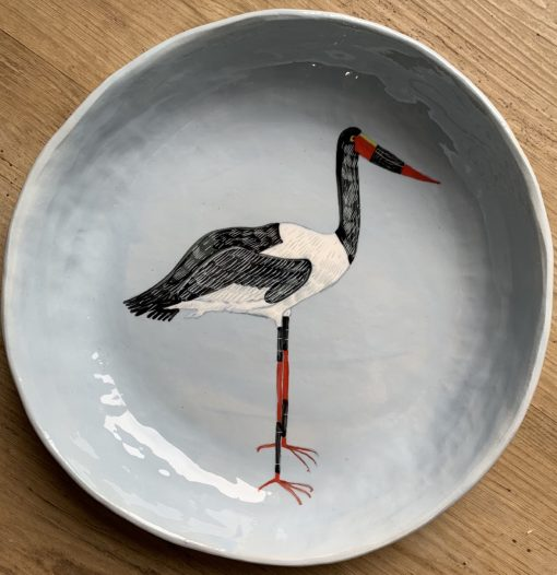 Gemma Orkin, Hand Made and Hand Painted Medium Ceramic (13) 1