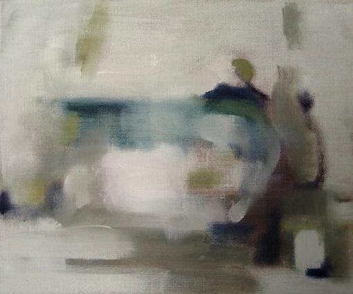 Gail Rhu, Blue & White Jug 1
